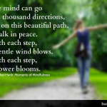 A Moment of Mindfulness: This Beautiful Path