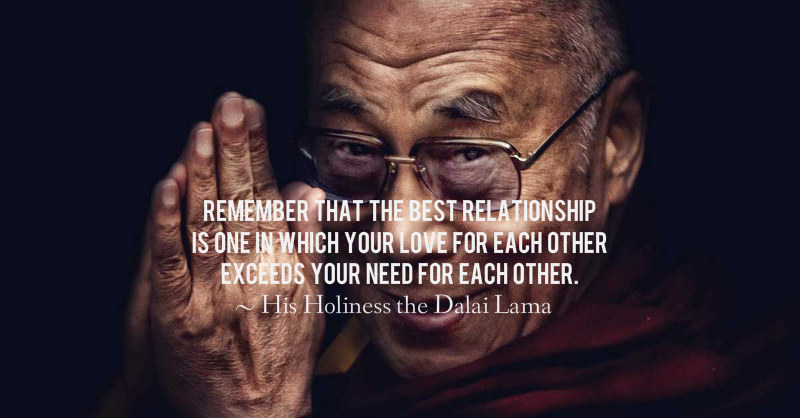 The Dalai Lama on Love